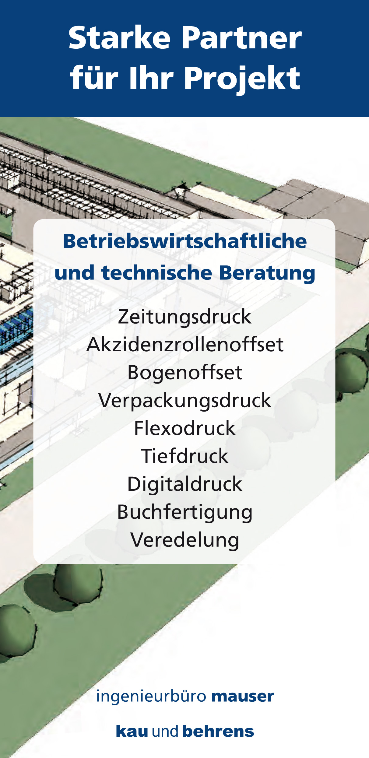 Starke Partner für Ihr Projekt: Betriebswirtschaftliche und technische Beratung – kau und behrens aus Stuttgart