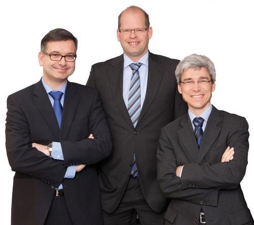 Jürgen Mauser, Jens Behrens und Stefan Dauer, Kooperationspartner kau und behrens mit ingenieurbüro mauser